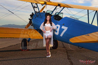Wings of Angels Sexy Jessie Stearman Biplane Malak