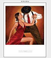 Tango Cortina, Color Print Ray Leaning