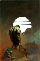 Nightstalker Print Art by Frank Frazetta