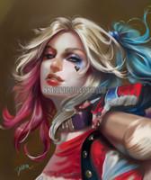 Harley Quinn Print Cris Delara