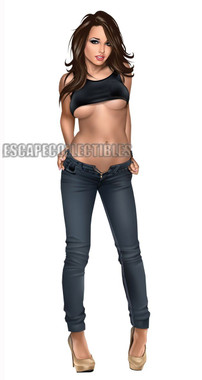 Keith Garvey Pin Up Skinny Jeans