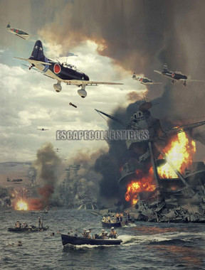 Dave Seeley Attack on Pearl Harbor