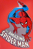 Spiderman Embossed Sign