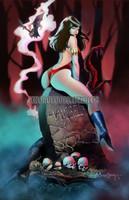 Vampirella by Arturo Louga