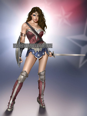 Wonder Woman by Keith Garvey