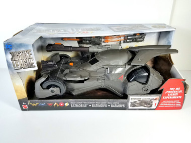 Justice League Mega Cannon Batman Batmobile Vehicle