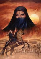 Desert Princess Signed Giclee Print 11X14 Jonathon Earl Bowser