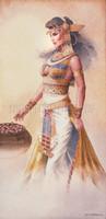 Cleopatra Signed Giclee Luster Print Jonathon Earl Bowser