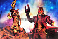 Rocket and Star Lord
