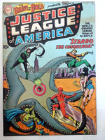 JLA Brave and the Bold Issue #28 New Comic Book Cover Embossed Metal Sign