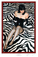 Ray Leaning Jessica Revisited Limited Signed & Numbered 1/50 Pin Up Art 17X25