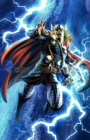 Thor Print 8.5x11 Carlos Valenzuela