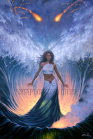 Desire Goddess of the Sea Signed Print Jonathon Earl Bowser