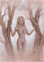 Mystic Wood I Signed Giclee Print 11X14 Jonathon Earl Bowser