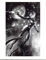 Cosmic Thrills 8.5x11 Print Carlos Valenzuela