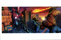 Fantastic Four Galactus Print Carlos Valenzuela