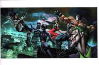 Gotham Madness Print Carlos Valenzuela