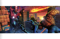 Fantastic Four Galactus 11X17 Carlos Valenzuela