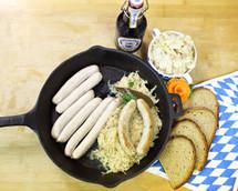 #121  Nuernberger Bratwurst 1 lb.