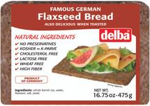 Delba Famous German Flaxseed Bread 16.75oz (475g)