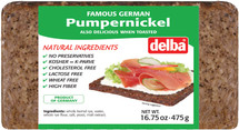 Delba Famous German Pumpernickel 16.75oz (475g)