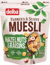 Delba Hazelnut and Raisin Muesli 26.5oz (750g)