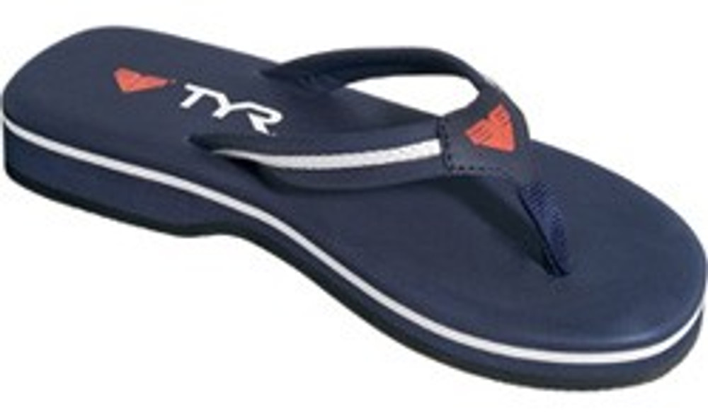 TYR Women's Alliance Team Nuzzle Thong Sandal