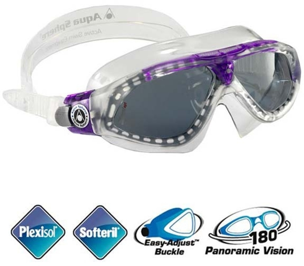 Aqua Sphere Seal XP Lady Swim Mask With Tinted Lenses