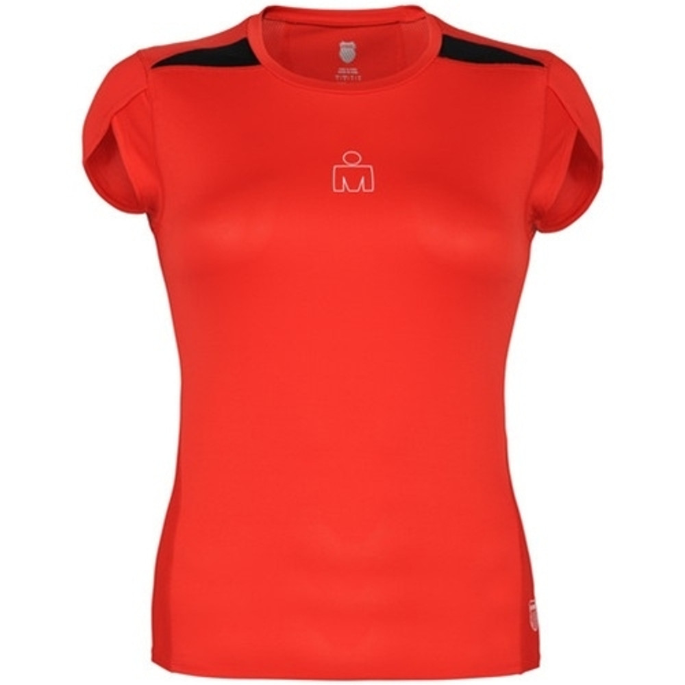 K-Swiss Women's Ironman Split Hem Capsleeve Top