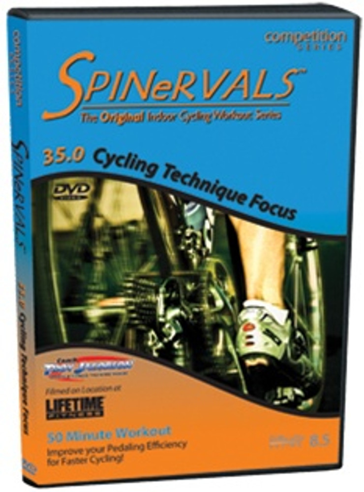 Spinervals 35.0 Cycling Technique Focus DVD