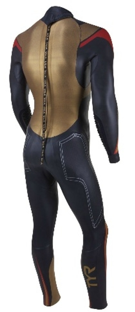 TYR Men's Hurricane Freak Of Nature Wetsuit - Back