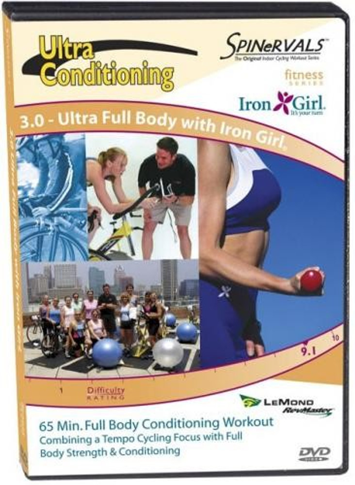 Spinervals Ultra Conditioning 3.0 - Ultra Full Body with Iron Girl