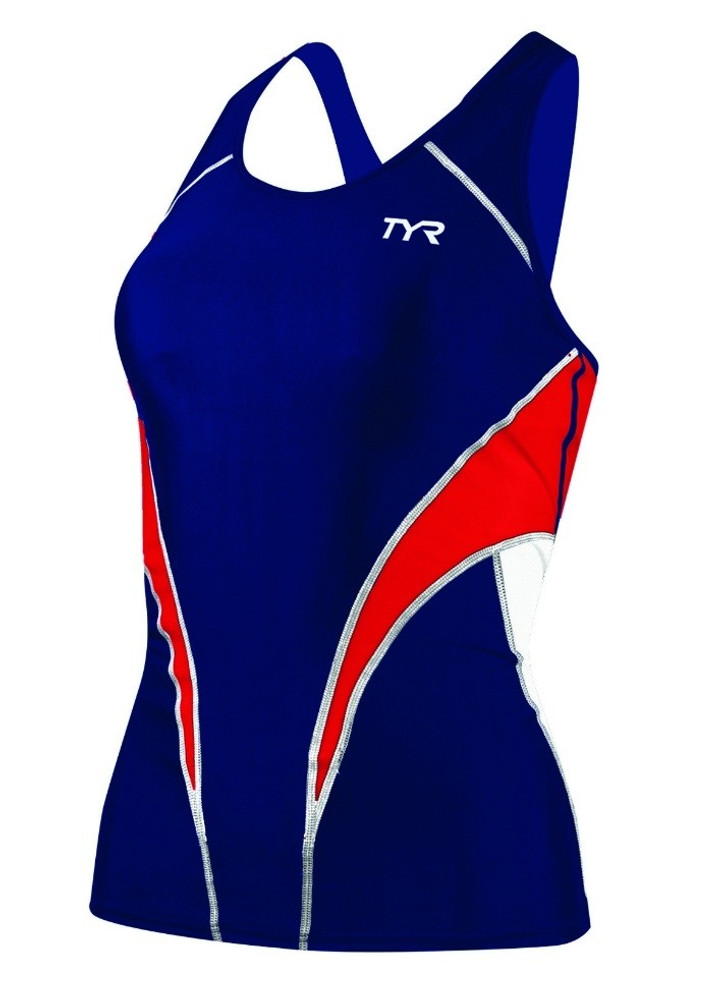 TYR Womens Competitor Fitted Tri Tankini