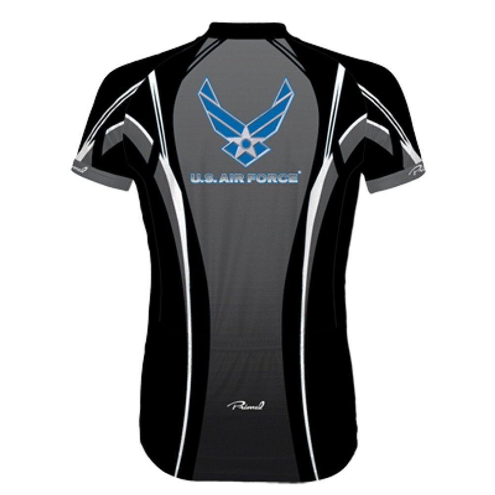 Primal Wear Women's U.S. Air Force Invade Jersey - Back