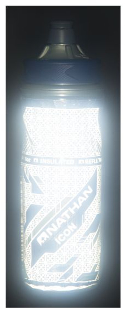 Nathan Icon Insulated Water Bottle - 18oz-Reflective