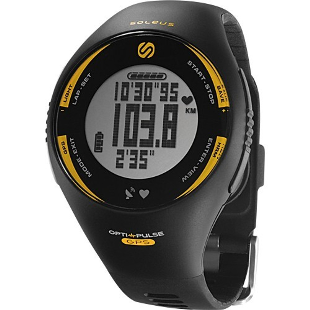 Soleus GPS Pulse Wrist Based Heart Rate Monitor