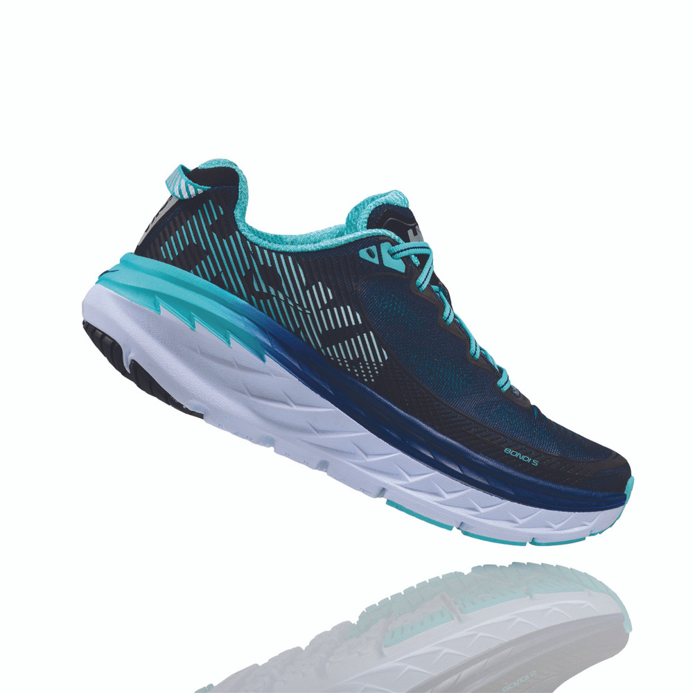 Hoka One One Women's Bondi 5 Shoe - Side