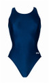 Dolfin Women's Solid Competition HP Back Swimsuit
