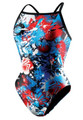Speedo Women's Kapow Axcel Back Swimsuit