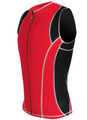 DeSoto Men's Forza Riviera Tri Jersey with Fullfront Zipper