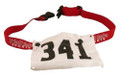 Triathlete Sports Race Number Belt - number