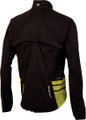 Pearl Izumi Mens Elite Barrier Convertible Jacket - Back