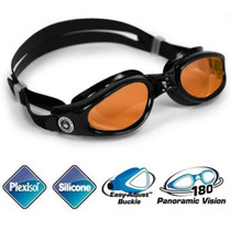 Aqua Sphere Kaiman Swim Goggles With Amber Lenses