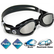 Aqua Sphere Kaiman Swim Goggles With Mirrored Lenses for Smaller Faces