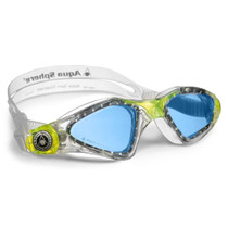 Aqua Sphere Kid's Kayenne Jr. Swim Goggle With Blue Lens