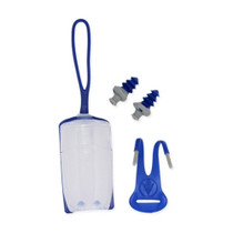 Aqua Sphere Silicone Ear Plugs With Carrying Case