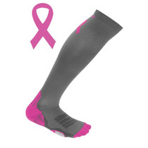 2XU Women's Breast Cancer Awareness Compression Socks for Recovery