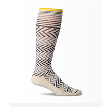 Sockwell Women's Chevron Moderate Compression Sock - 2018