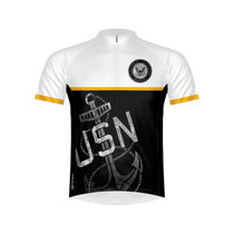 Primal Wear Men's US Navy Anchor Cycling Jersey - 2017