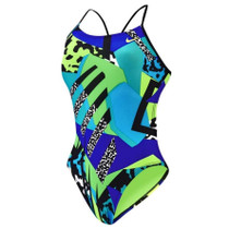 Nike Women's Retro Cut-Out Tank Swimsuit